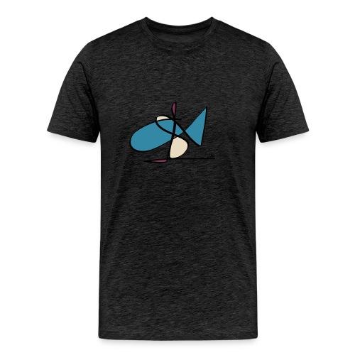MJS Fish 2 Men - Männer Premium T-Shirt