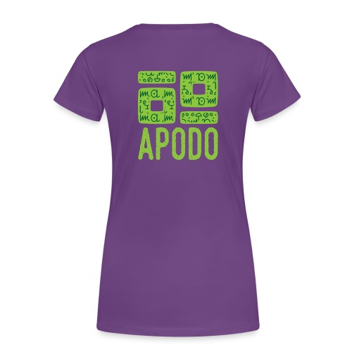 Apodo Lady - Women's Premium T-Shirt