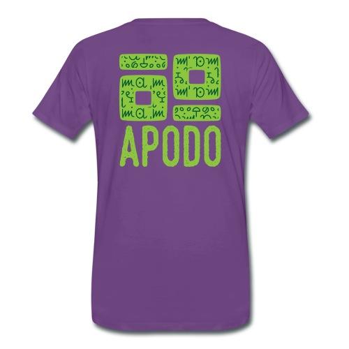 Apodo Men - Men's Premium T-Shirt