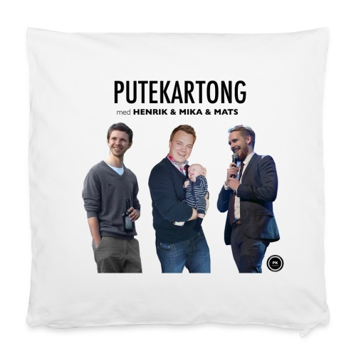 Putekartong Pute med Alle Gutta - Putevar 40 x 40 cm