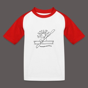 Kayak!_kids_SW Shirts - Kinder Baseball T-Shirt