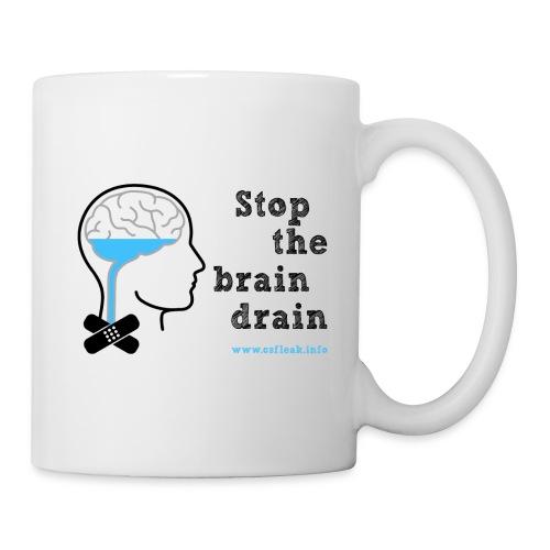 Stop the Brain Drain Mug - Mug