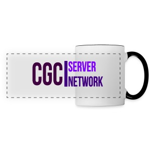 CGC - Logo - Tasse mit schwarz gefärbten Hänkel - Panoramatasse