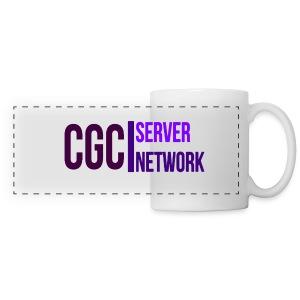 CGC - Logo - Tasse - Weiss - Panoramatasse