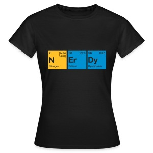Nerdy Periodic Table of Elements T-Shirt - Frauen T-Shirt