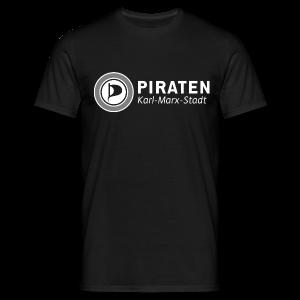 Piraten - Karl-Marx-Stadt - Männer T-Shirt