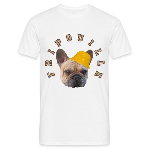 T-Shirt Homme Fripouille avec chapeau de pluie - T-shirt Homme
