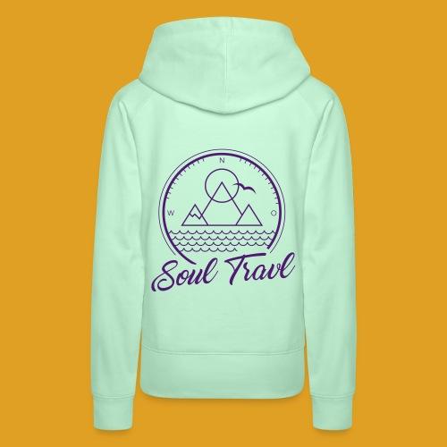 Hoodie Soul Travl - Frauen Premium Hoodie