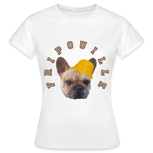 T-Shirt Femme Fripouille avec chapeau de pluie - T-shirt Femme