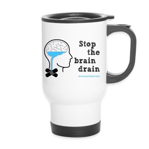 Stop the Brain Drain Thermal Mug - Travel Mug