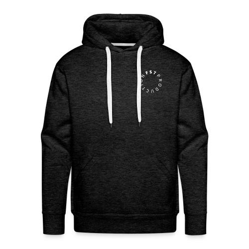 SWEAT FS7 LOGO BLANC - Sweat-shirt à capuche Premium pour hommes