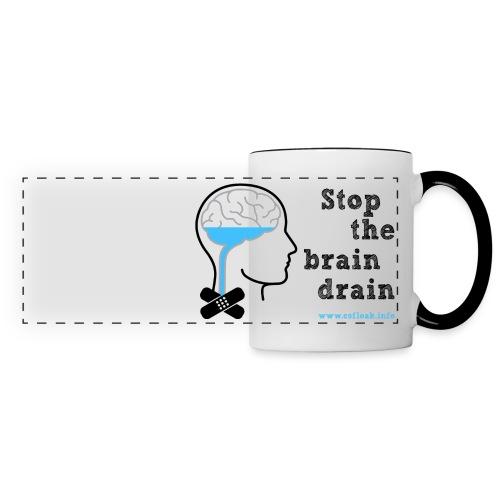 Stop the Brain Drain Premium Mug - Panoramic Mug
