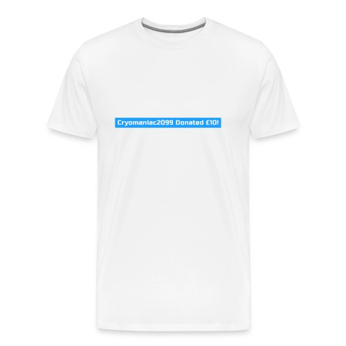 Male Cryo Donation Tee - Men's Premium T-Shirt