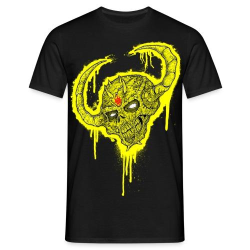 demon head(yellow blood) - Men's T-Shirt