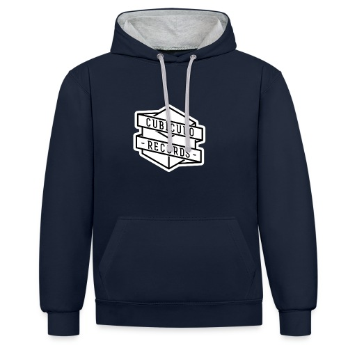 Cubiculo Logo Hoodie 2 Colours - Contrast Colour Hoodie