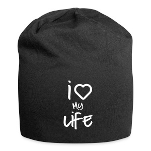 i love my life 2 Caps & Hats - Jersey Beanie