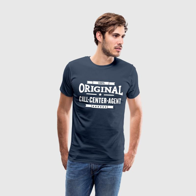 100% Call-Center-Agent T-Shirts - Männer Premium T-Shirt