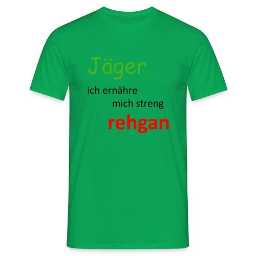 Jäger Ernährung rehgan - Männer T-Shirt
