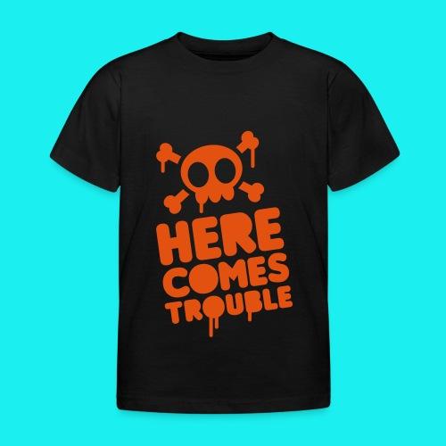 Trouble - Kids' T-Shirt