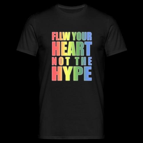 FLLW rainbow  - Männer T-Shirt