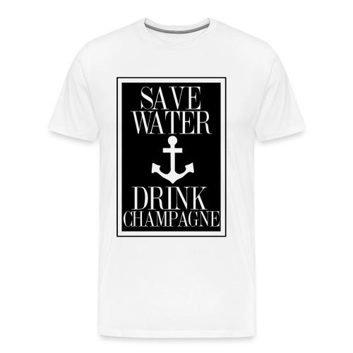 Champagne shirt - Männer Premium T-Shirt