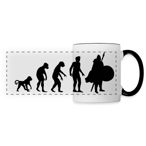 Evolution - Panoramic Mug
