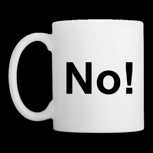 the NO! mug - Mug
