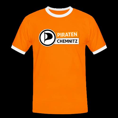 Modisches Kontrastshirt - Männer Kontrast-T-Shirt