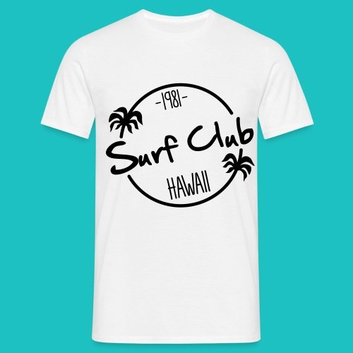 Surf Club Hawaii T-shirt - Men's T-Shirt