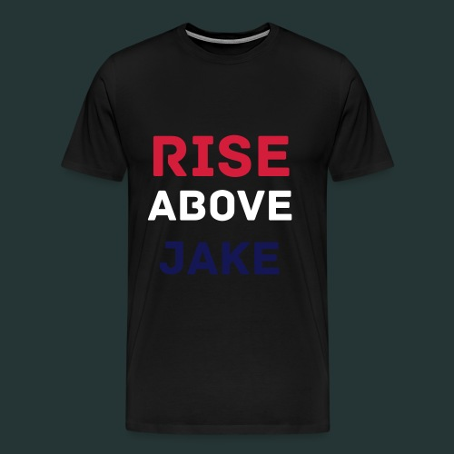 Rise Above Jake T-Shirt | Mens - Men's Premium T-Shirt