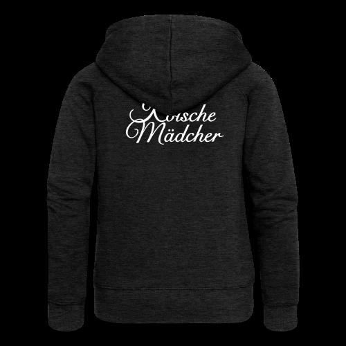 Kölsche Mädcher Classic Kapuzenjacke - Frauen Premium Kapuzenjacke