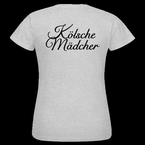 Kölsche Mädcher Classic Köln T-Shirt - Frauen T-Shirt