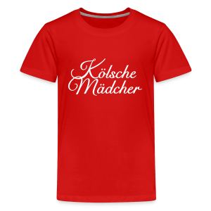 Kölsche Mädcher Classic Teenager T-Shirt - Teenager Premium T-Shirt