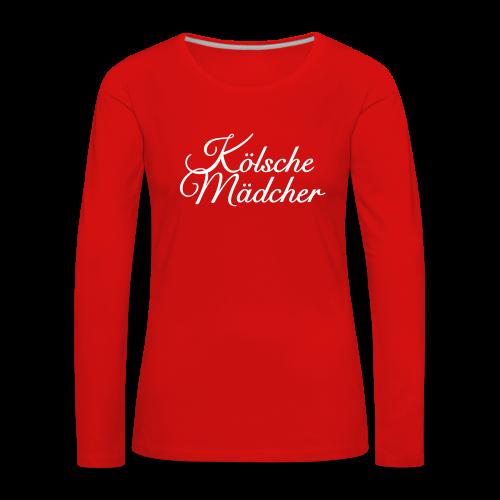 Kölsche Mädcher Classic Langarmshirt - Frauen Premium Langarmshirt