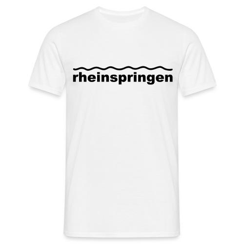 Rheinspringen  herrlich - Männer T-Shirt