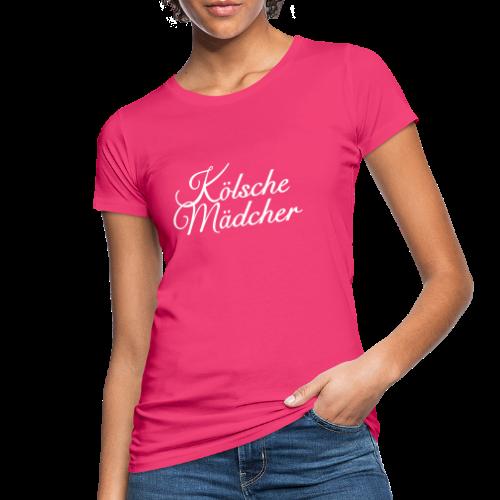 Kölsche Mädcher Classic (Weiß) Mädchen aus Köln - Frauen Bio-T-Shirt