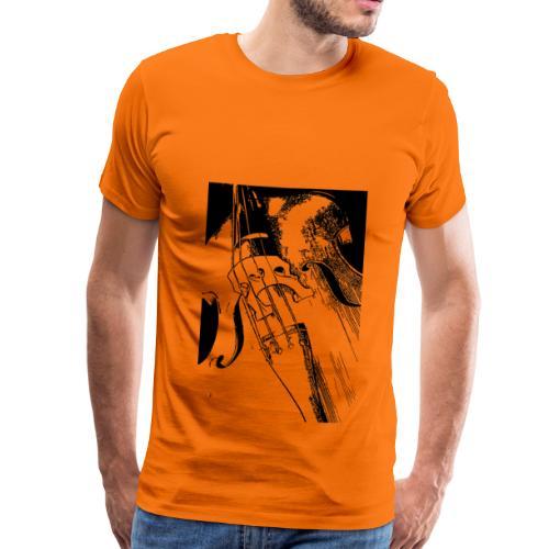 T-shirt homme contrebasse - T-shirt Premium Homme