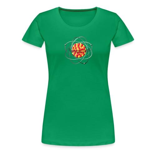 électron libre féminin - T-shirt Premium Femme