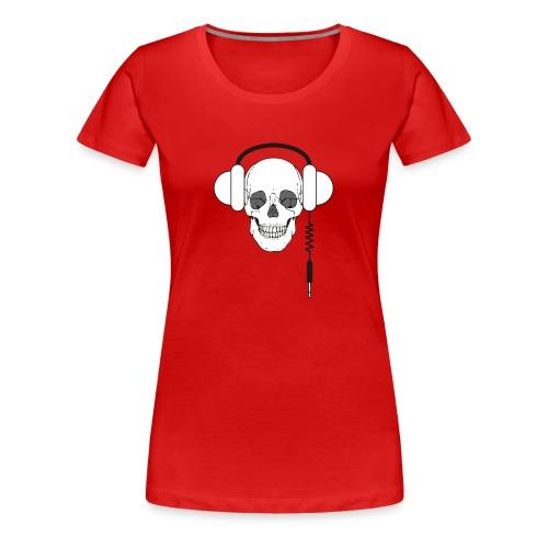 Skull head femme - T-shirt Premium Femme