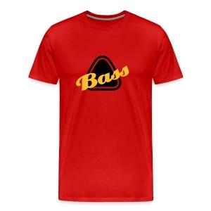 bass homme rouge - T-shirt Premium Homme