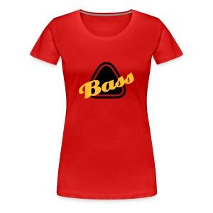bass femme rouge - T-shirt Premium Femme