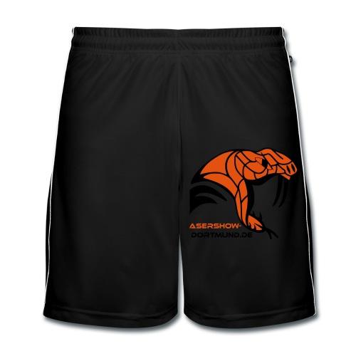 Snake´s White - Männer Fußball-Shorts
