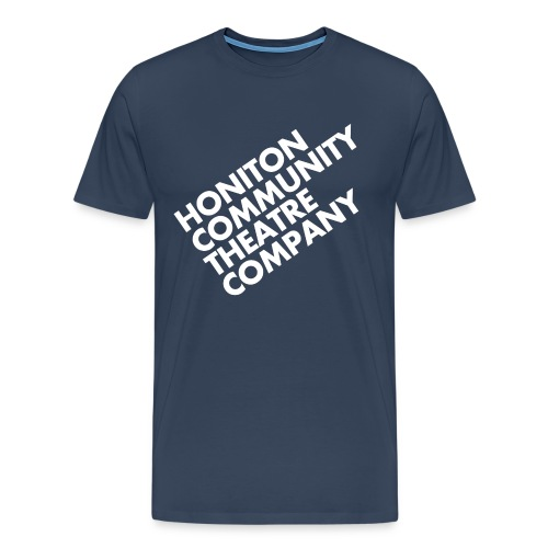 HCTC T-Shirt (M) Navy Blue - Men's Premium T-Shirt