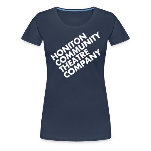 HCTC T-Shirt (F) Navy Blue - Women's Premium T-Shirt