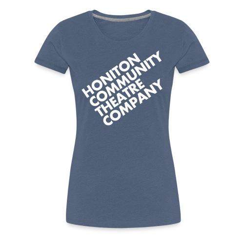 HCTC T-Shirt (F) Heather Denim - Women's Premium T-Shirt