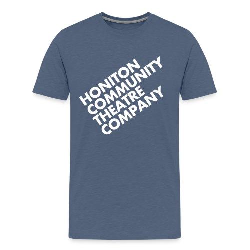 HCTC T-Shirt (M) Heather Denim - Men's Premium T-Shirt