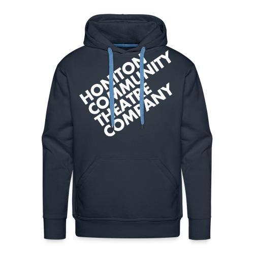 HCTC Hoody (M) Navy Blue - Men's Premium Hoodie