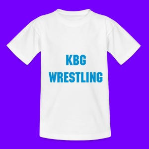 KBG Wrestling T-Shirt Tennager - Teenage T-shirt