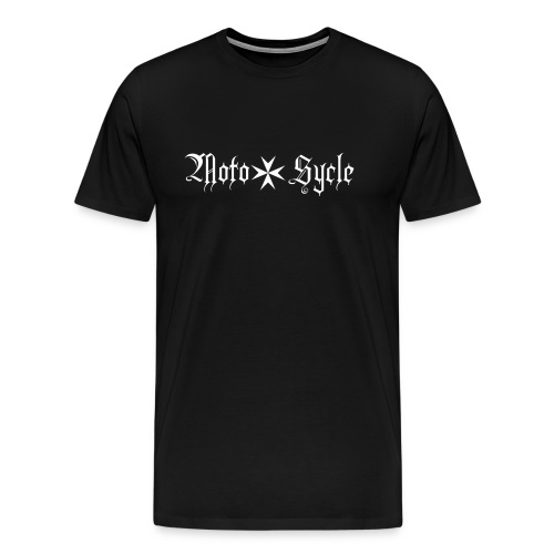 Moto Sycle Logo - Men's Premium T-Shirt