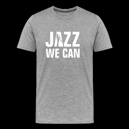 Jazz We Can - Mannen Premium T-shirt